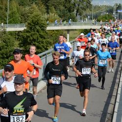 Jüri Jaansoni Kahe Silla jooks - Karel Kaljuste (426), Carmine Winterstein (465), René Pere (1032)