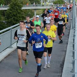 Jüri Jaansoni Kahe Silla jooks - Annes Dreimann (236), Heiki Aulik (450)
