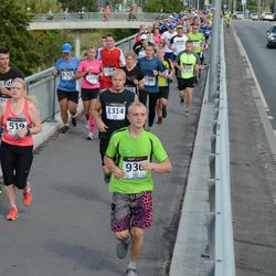 Jüri Jaansoni Kahe Silla jooks - Annely Peet (519), Tanel Tilk (1314)