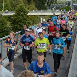 Jüri Jaansoni Kahe Silla jooks - Merje Hansen (376), Viktor Pähklamäe (517), Berit Pilden (560), Raul Enn (689)