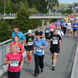 Jüri Jaansoni Kahe Silla jooks - Anastasia Gerassimova (375), Maia Boltovsky (604), Marko Kontus (813), Aivar Paul (1028)