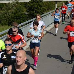 Jüri Jaansoni Kahe Silla jooks - Marina Järve (374), Aleksandr Zurbi (1188)