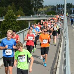 Jüri Jaansoni Kahe Silla jooks - Timo Treit (1247), Andreas Tulver (1251), Annika Laar (1643)
