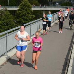 Jüri Jaansoni Kahe Silla jooks - Anita Jaanson (730), Anni Grete Kõrge (850)