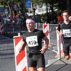 SEB Tallinna Maraton - Armin Allmäe (298), Timo Lempiäinen (410)