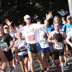 SEB Tallinna Maraton - Ly Sillanurm (385), Arno Vaik (431)