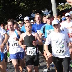 SEB Tallinna Maraton - Martti Raavel (429), Arno Vaik (431), Jan Dubrovski (472)