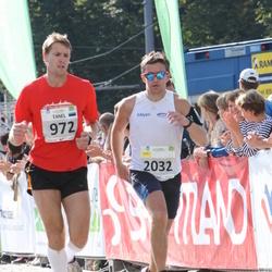 SEB Tallinna Maraton - Tanel Leisalu (972), Andre Abner (2032)
