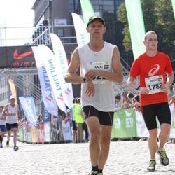 SEB Tallinna Maraton - Aadu Ojaste (825), Didzis Videmanis (1788)