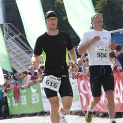 SEB Tallinna Maraton - Aarne Vasarik (616), Kimmo Aalto (904)