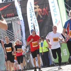 SEB Tallinna Maraton - Aare Saliste (989), Sergei Kondrašev (1434)