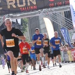 SEB Tallinna Maraton - Andrus Hiis (185), Arne Pihkva (1676), Clive Smith (6683)