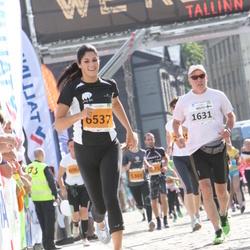 SEB Tallinna Maraton - Risto Oksa (1631), Britta Roosileht (6537)
