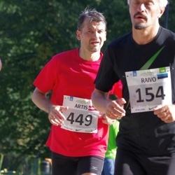 SEB Tallinna Maraton - Raivo Võip (154), Artis Visendorfs (449)