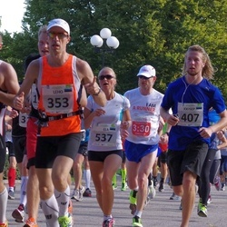 SEB Tallinna Maraton - Leho Laja (353), Joosep Kivastik (407), Arno Vaik (431), Ela Vulla (537)