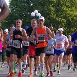 SEB Tallinna Maraton - Leho Laja (353), Joosep Kivastik (407), Arno Vaik (431)