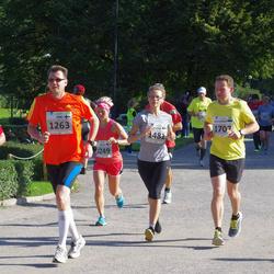 SEB Tallinna Maraton - Irina Silander (1249), Ari Kivimaa (1260), Timo Perälä (1263), Aleksandr Beljantsev (1707)
