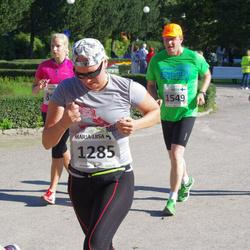 SEB Tallinna Maraton - Marja-Liisa Liljeström (1285), Arto Suninen (1549), Kristina Verbitskaja (1596)