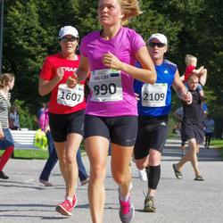 SEB Tallinna Maraton - Anu-Liis Laar (890), Annika Lundström-Nygård (1607), Mardo Moumets (2109)