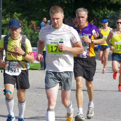 SEB Tallinna Maraton - Saku Kirkkopelto (126), Arnis Malbergs (1521)