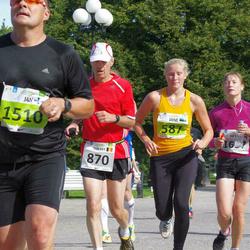 SEB Tallinna Maraton - Jane Saluorg (587), Thierry Godefridi (870), Arta Seile (1637)