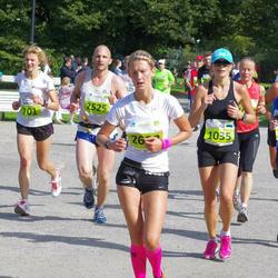 SEB Tallinna Maraton - Maigi Tomp (572), Ingrida Greivule (701), Age Tiidermann (1035)