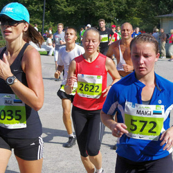 SEB Tallinna Maraton - Maigi Tomp (572), Age Tiidermann (1035), Liina Areng (2622)