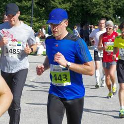 SEB Tallinna Maraton - Jaanus Kaik (443), Artur Dianov (1485)