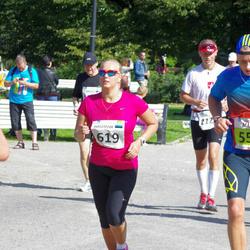 SEB Tallinna Maraton - Allar Kajandi (550), Anastasia Gerassimova (619)