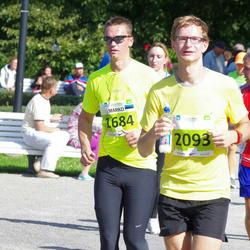 SEB Tallinna Maraton - Marko Rumm (1684), Arnold Provalski (1780), Marek Kõllo (2093)