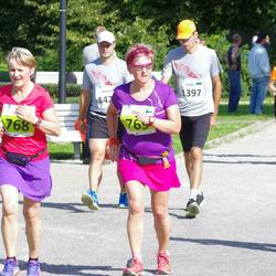 SEB Tallinna Maraton - Arja Lundeqvist (768), Elina Pitkäniitty (769)
