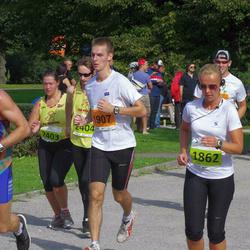 SEB Tallinna Maraton - Kerli Maro (1862), Matis Kivila (1907), Agate Darvina (2403), Reinis Tops (2404)