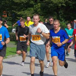 SEB Tallinna Maraton - Christopher Raastad (186), Marko Pikk (310), Martin Eerme (312), Hardo Peetermann (837), Taavi Taros (912)