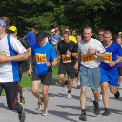 SEB Tallinna Maraton - Christopher Raastad (186), Marko Pikk (310), Martin Eerme (312), Hardo Peetermann (837)
