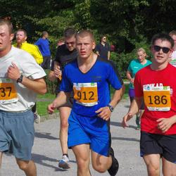 SEB Tallinna Maraton - Christopher Raastad (186), Hardo Peetermann (837), Taavi Taros (912)