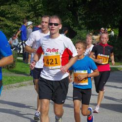 SEB Tallinna Maraton - Argo Põldoja (335), Aare Treier (421)