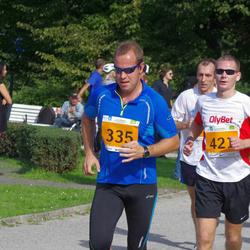 SEB Tallinna Maraton - Argo Põldoja (335), Aare Treier (421), Tony Ats Tamm (1109)