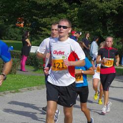SEB Tallinna Maraton - Argo Põldoja (335), Aare Treier (421), Kädi Lepberg (2813)