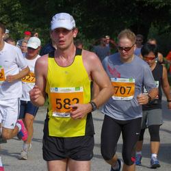 SEB Tallinna Maraton - Taimar Pärtel (582), Indrek Siren (707), Anatoli Bozko (6502)