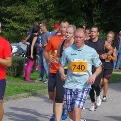 SEB Tallinna Maraton - Kristo Kempi (740), Arne Pihkva (1676)