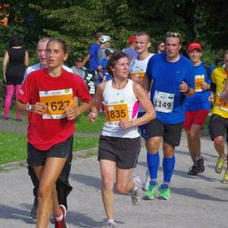 SEB Tallinna Maraton - Anto Roots (1149), Kristjan Mägi (1325), Andra Moistus (1627), Laura Andrade (1835)