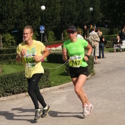 SEB Tallinna Maraton - Evert Priisaar (505), Brit Rammul (747)