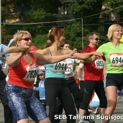 8. SEB Tallinna Sügisjooks - Kalev Kolga (6053), Alevtina Huttunen (6944), Sirje Urbanik (6946), Liivi Vähesoo (7826)