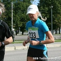8. SEB Tallinna Sügisjooks - Hanno Priks (145), Anneli Vaher (233)