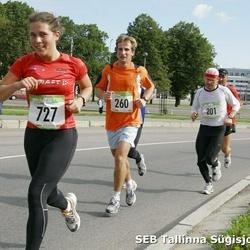 8. SEB Tallinna Sügisjooks - Mart Einasto (201), Andre Anis (260), Heleen Vennikas (727)