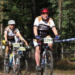 Honda Jõulumäe Rattamaraton - Arne Kaasik (2294), Kadri-Ann Jundas (2302)