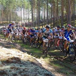 Honda Jõulumäe Rattamaraton - Henrik Rikkas (312), Maido Janke (320), Agu Simulask (323), Magnus Vaht (342)
