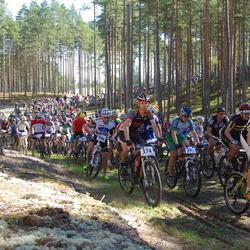 Honda Jõulumäe Rattamaraton - Sven-Erik Nõmtak (374), Alar Alumaa (393), Roomet Uurimäe (402), Vadim Haritonov (444)