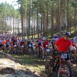 Honda Jõulumäe Rattamaraton - Raul Olesk (726), Ott Anari (732), Jaanika Käes (749)