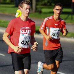 SEB Tallinna Maraton - Andre Petraudze (420), Janno Tilk (800)